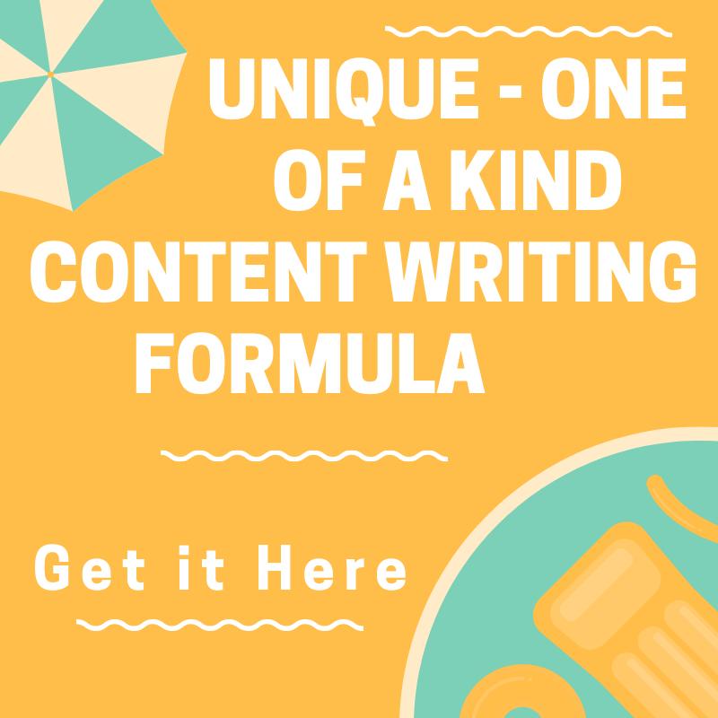 Content Writing Formula