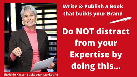 do not distract from your Expertise