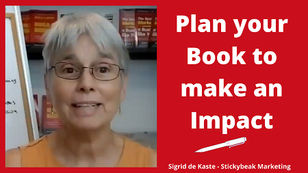 Plan your Book to make an Impact