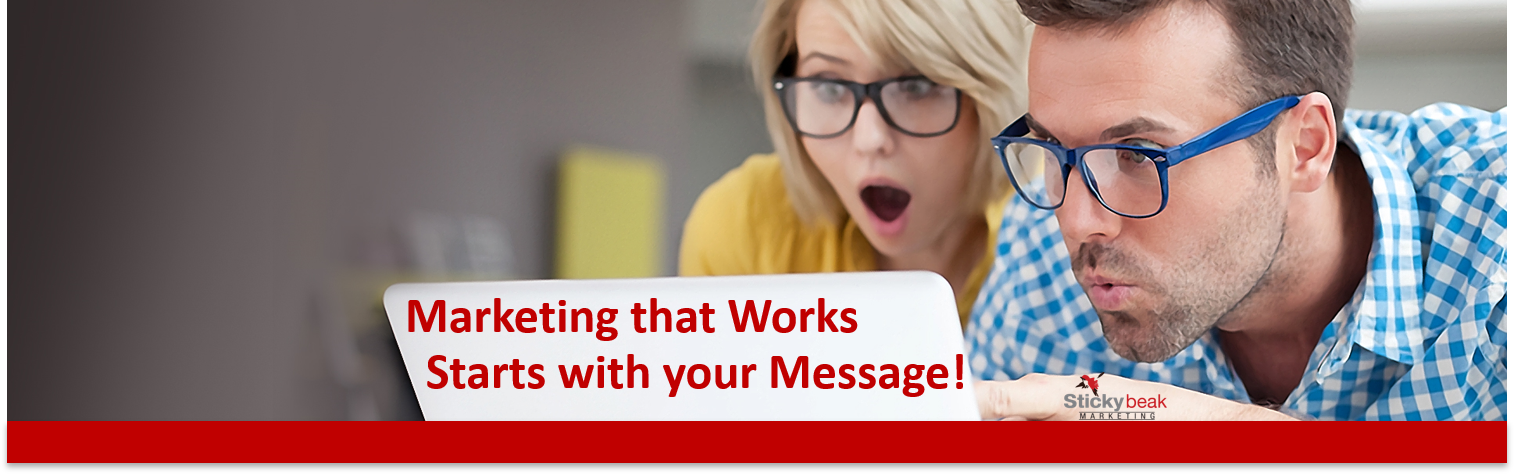 Stickybeak Marketing and Your Message