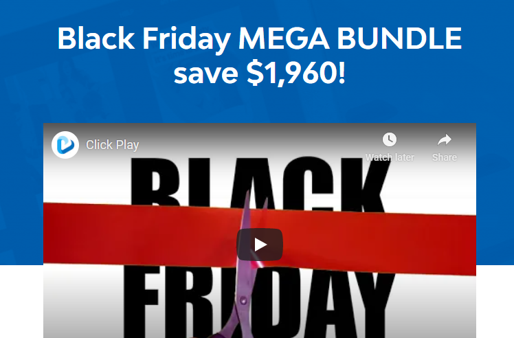 Black Friday Mega Bundle