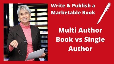Multi Author vs Single Author Book Book explained