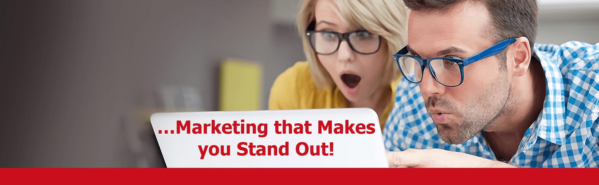 Stickybeak Marketing Makes You Stand Out.