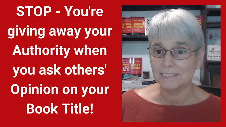 Stop asking people about your title