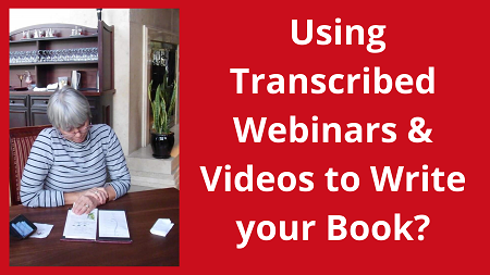 Using Transcribed Content for Book