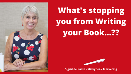 What's stopping you from Writing
